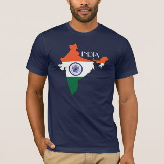 India Flag-Map Shirt