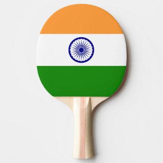 India Flag Ping Pong Paddle