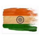 India Flag Postcards