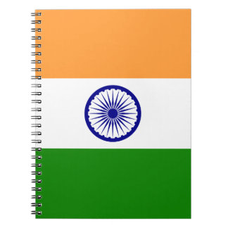 India Flag Spiral Notebook