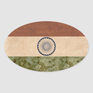 India Flag Stickers