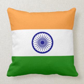 India Flag Throw Pillow