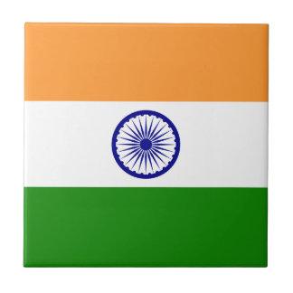 India Flag Tile