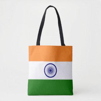 India Flag Tote Bag