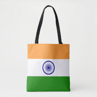 India Flag Tote Bag