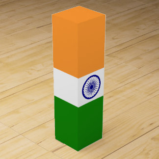 India Flag Wine Gift Box
