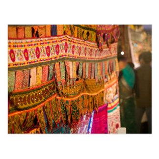 INDIA, Goa, Baga: Saturday Evening Market (NR) Postcard