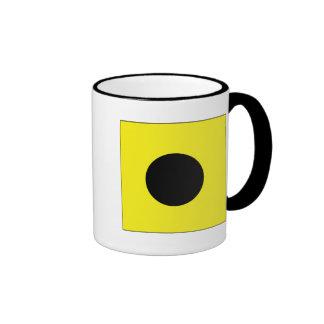 India (I) Signal Flag Coffee Mug