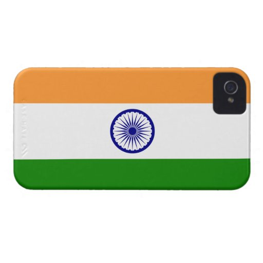 India; Indian Flag iPhone 4 Case-Mate Cases