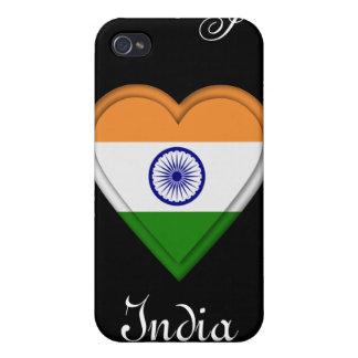 India Indian Manga Flag girl iPhone 4/4S Covers