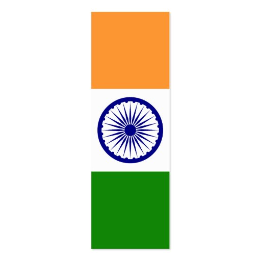 India – Indian National Flag Business Card Templates