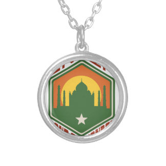 India Land Of Wonder Silver Plated Necklace