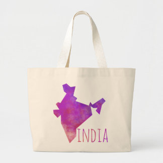 India Large Tote Bag