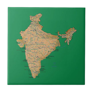 India Map Tile