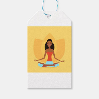 INDIA MEDITATION PRINCESS ART EDITION GIFT TAGS