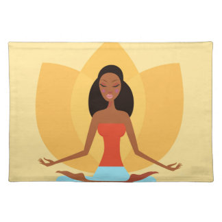 INDIA MEDITATION PRINCESS ART EDITION PLACEMAT
