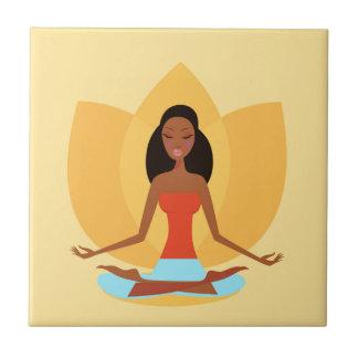 INDIA MEDITATION PRINCESS ART EDITION TILES