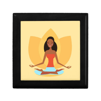INDIA MEDITATION PRINCESS ART EDITION TRINKET BOXES
