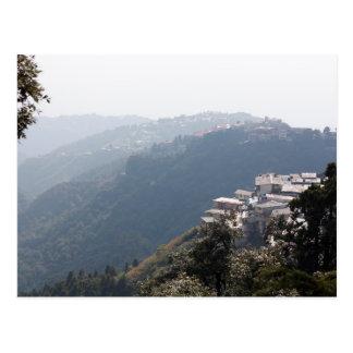 India Mountains Postcard