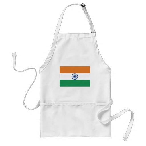 India National Flag Apron