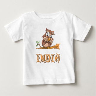India Owl Baby T-Shirt