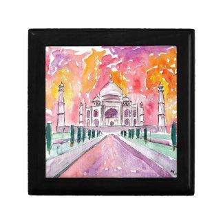 India palace at sunset jewelry box