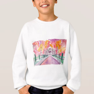 India palace at sunset sweatshirt