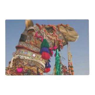 INDIA, Rajasthan, Pushkar: PUSHKAR CAMEL FAIR, Laminated Place Mat