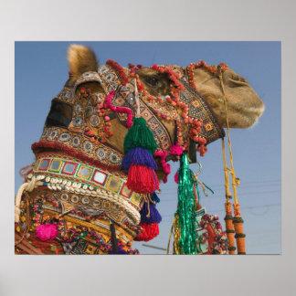 INDIA, Rajasthan, Pushkar: PUSHKAR CAMEL FAIR, Poster