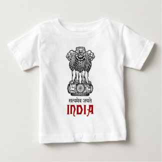 INDIA - seal/emblem/blazon/coat of arms Baby T-Shirt
