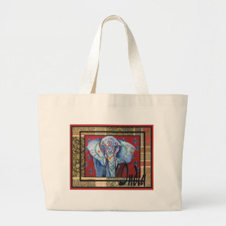 India  series #2 large tote bag