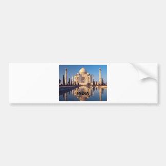 India Taj-mahal angie Bumper Sticker