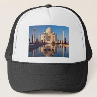India Taj-mahal angie Trucker Hat