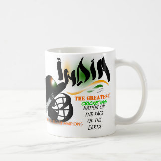 India The Greatest Cricket Nation on Earth  Mug