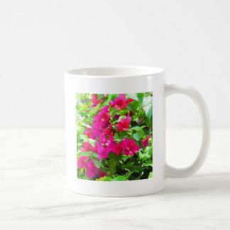India travel flower bougainvillea floral emblem coffee mug
