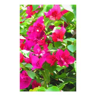 India travel flower bougainvillea floral emblem stationery