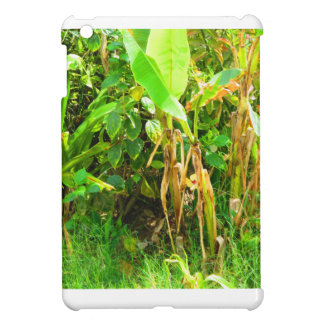 India Travels Infant Banana trees saplings Green iPad Mini Case