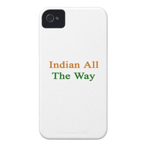 Indian All The Way Blackberry Bold Covers