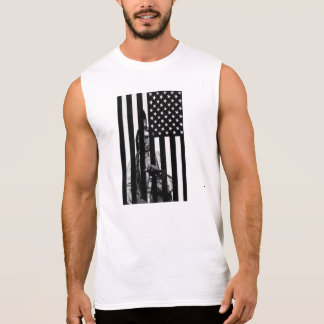 INDIAN american flag Sleeveless Shirt