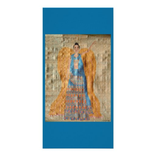 Indian Angel Custom Photo Card