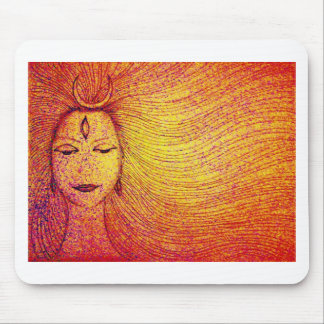 INDIAN ART - Lord Shiva Mouse Pad