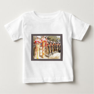 Indian art n crafts show surajkund mela newdelhi baby T-Shirt