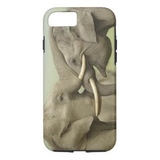 Indian / Asian Elephants play fighting,Corbett 2 iPhone 7 Case