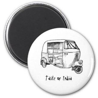 Indian autorikshaw magnet