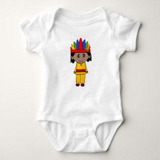 Indian Baby Bodysuit