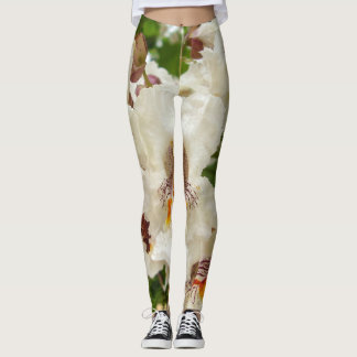 Indian Bean Tree Flowers Leggings