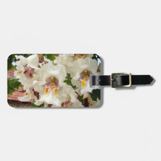 Indian Bean Tree Flowers Luggage Tag