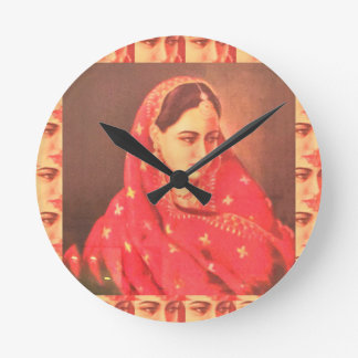 Indian beauty bride girl female woman goddess gift clocks