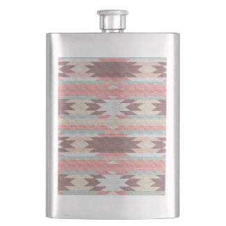 INDIAN BLANKET HIP FLASK