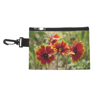 Indian Blanket Wildflowers Accessory Bag